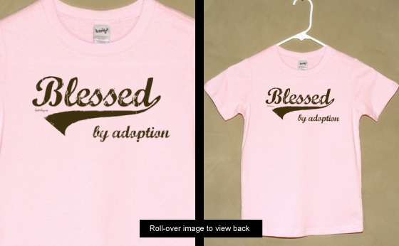 Blessed by Adoption - Youth Tee