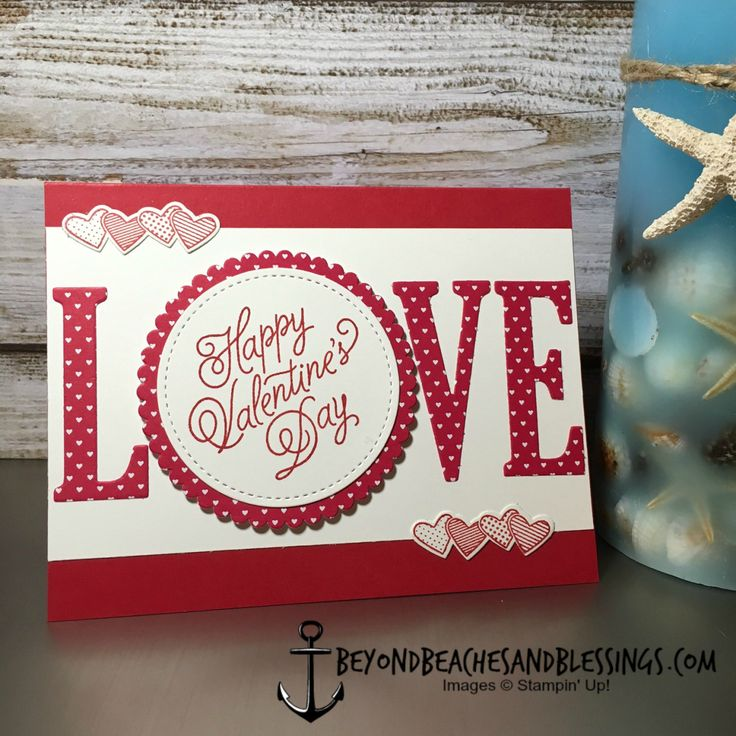 10739 best stampin 39 up projects images on pinterest for Valentine day card ideas