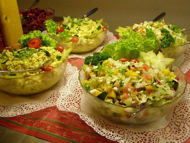 Vihreät salaatit!