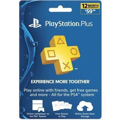 Sony PlayStation - PS Plus 12Mnth Sub Card FY17