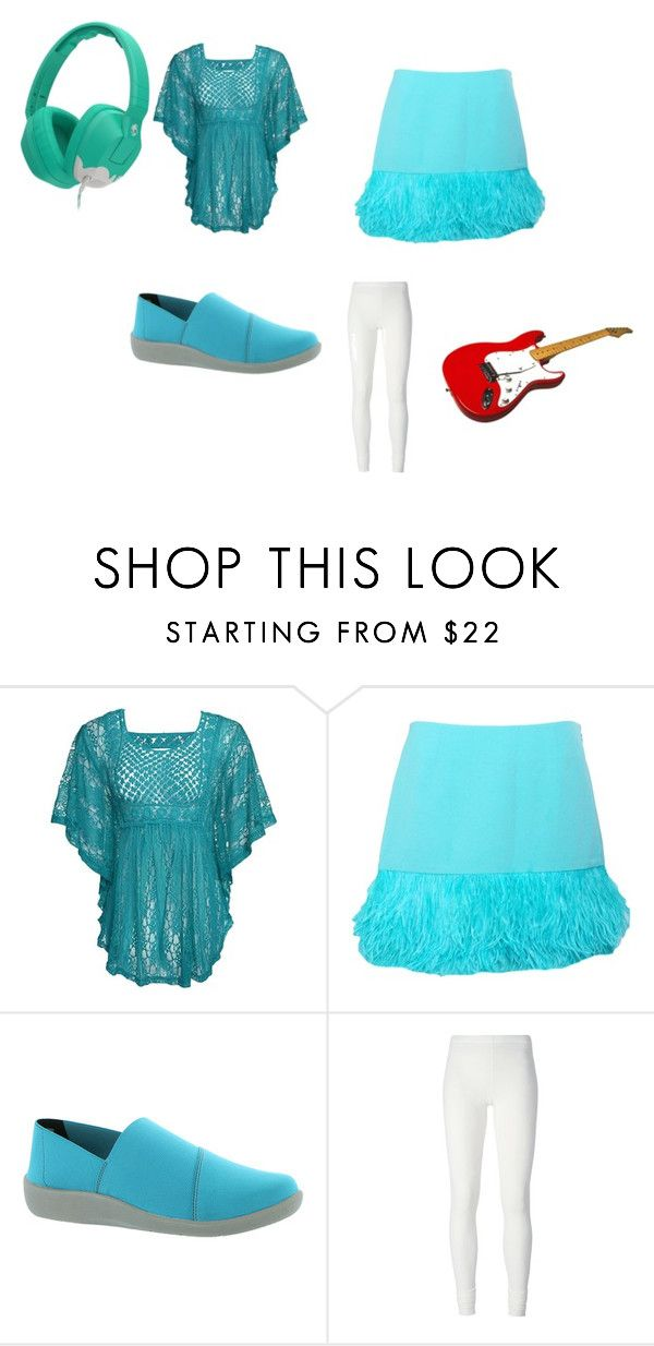 """""""Megan"""" by midnight-dusk-luvs-ponys ❤ liked on Polyvore featuring мода, LUCY IN DISGUISE, Clarks, Skullcandy и Rick Owens Lilies"""