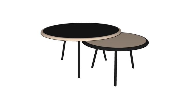 NESTING COFFEE TABLE - 3D Warehouse