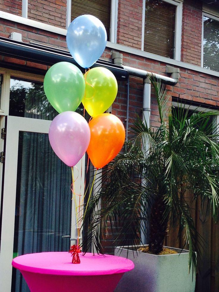 Helium gevulde ballonnen voor uw verjaardag