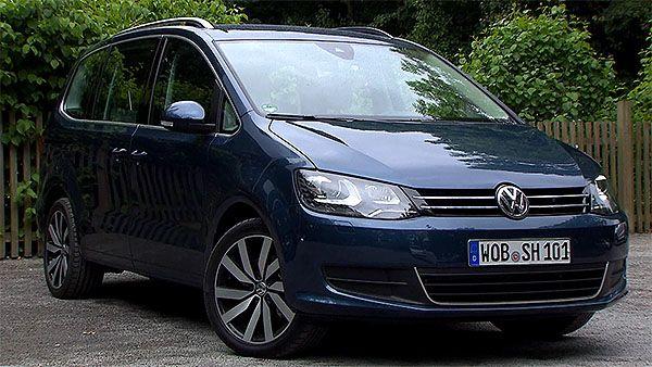 Facelift für den neuen VW Sharan