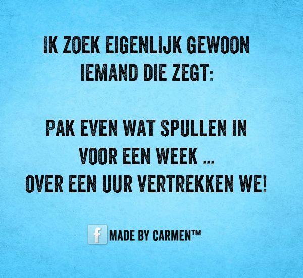 Facebook pagina Made by Carmen™