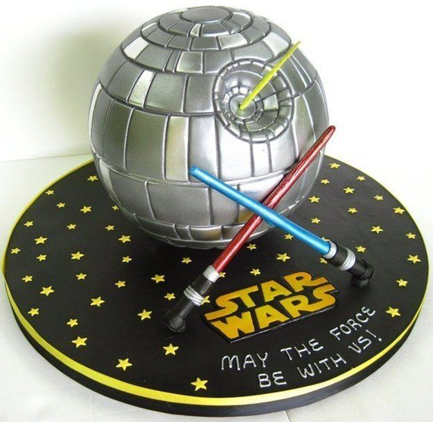 Death Star. The Nerdiest Wedding Cakes You'll Ever Want To Eat • Page 2 of 5 • BoredBug
