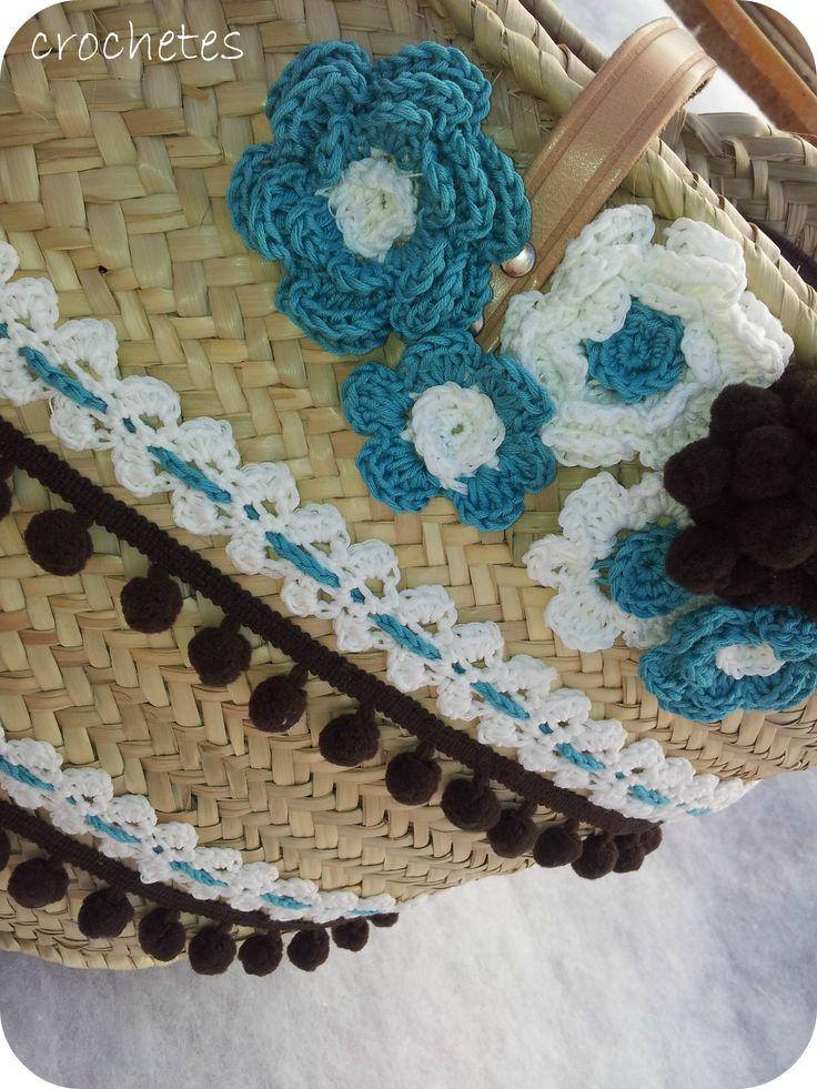 Crochetes: Bolsos