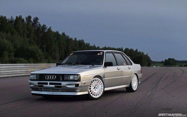 Audi 80 Quattro with UR Quattro flared wheel arches, (the Quattro Warrior)
