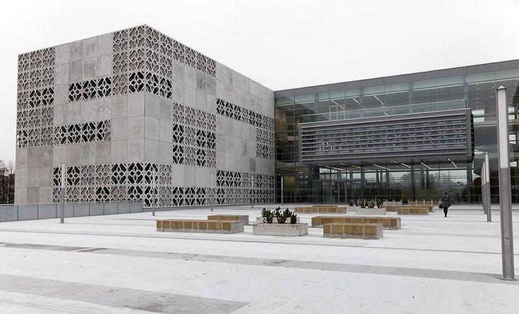 [Białystok] Biblioteka Politechniki Białostockiej (Centrum Nowoczesnego Kształcenia Politechniki Białostockiej) - SkyscraperCity