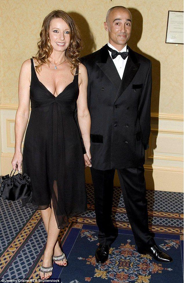 Wham! star Andrew Ridgeley and his Bananarama star wife, Keren Woodward