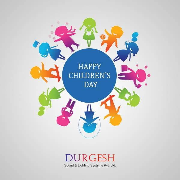 Team Durgesh Wishing you very Happy Children's Day. Children's day in India is celebrated on Jawaharlal Nehru's birthday as a day of fun and frolic, a celebration of childhood, children and Nehruji's love for them. ChildrensDay