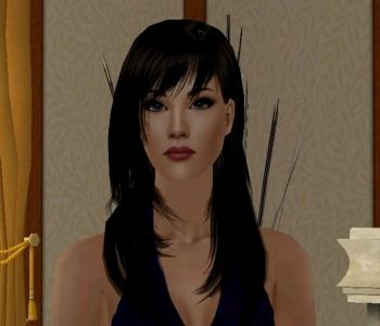 Sapphira by SimEm is in our Gifts from Treasured Friends section. #Sims2 #downloads
