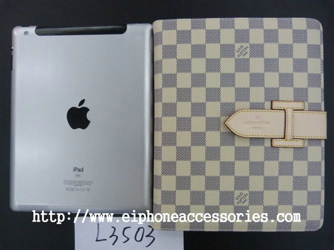 Leather Louis Vuitton iPad 3 Case iPad 2 Case Damier White http://www.eiphoneaccessories.com/ipad-3/best-ipad-3-cases-ipad-3-case/louis-vuitton-ipad-3-case/leather-louis-vuitton-ipad-3-case-damier-white.html