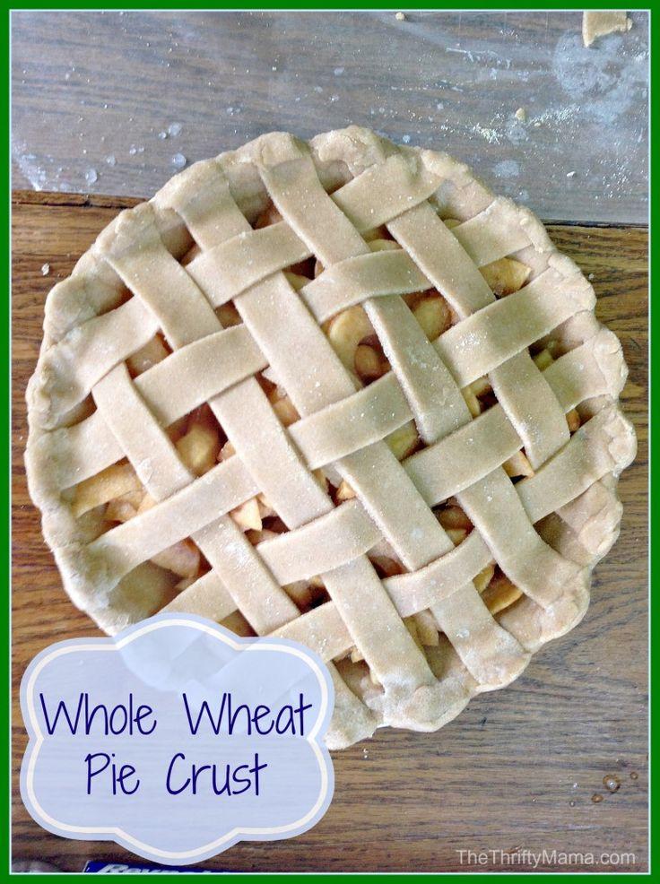 Whole Wheat Pie Crust Recipe: Make it from scratch!
