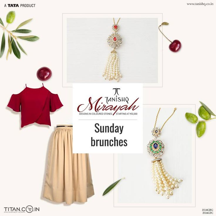 Pair these tassel necklaces with cold shoulder dresses to add a little grandeur to those Sunday brunches.