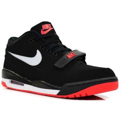 Nike Heren Sneakers Air Alphalution Zwart Rood