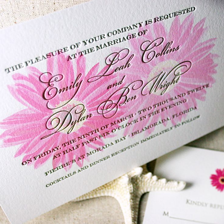 Custom Letterpress Wedding Invitations U0026 Affordable Letterpress Invitations  | Mospens Studio