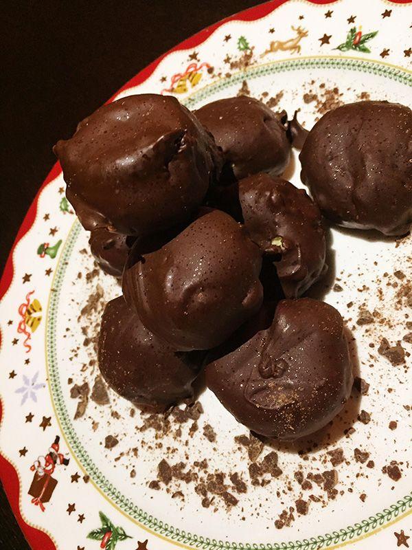 Κουραμπιέδες με σοκολάτα | ION Sweets
