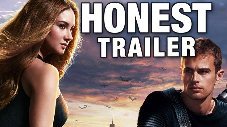 Honest Trailers - Divergent. If you hav not read The Hunger games, please don't tell me they're two totally DIFFERENT BOOKS, BECAUSE THEY'RE REALLY NOT, LET'S FACE IT. I adore both, but I do think they share A LOT of similarities.