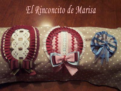 EL RINCONCITO DE MARISA: Diademas y coleteros