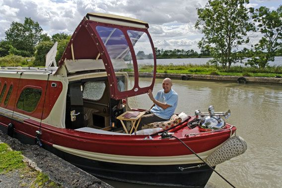narrowboat cratch - Recherche Google