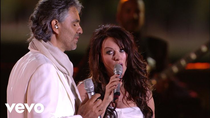 Andrea Bocelli, Sarah Brightman - Time To Say Goodbye (HD) Published on Oct 22, 2015. Live From Teatro Del Silenzio, Italy / 2007. Love them both. Love this song so much. It means so much to me. For all the people we loved and we lost. MOLTO BELLO!!!!!