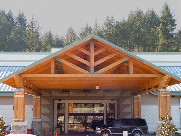 Heavy Timber Trusses Western Wood Structures Inc In