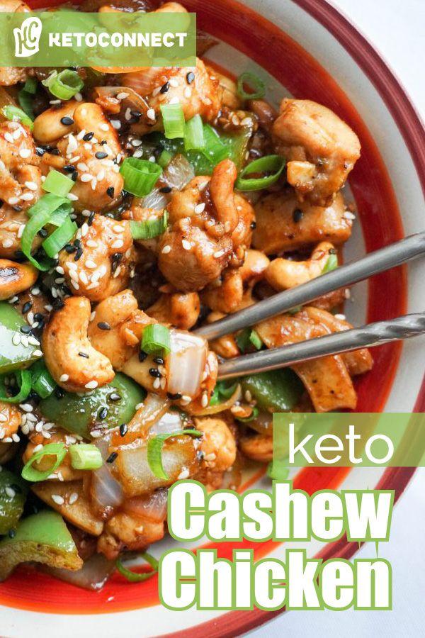 Einfaches Cashew-Huhn