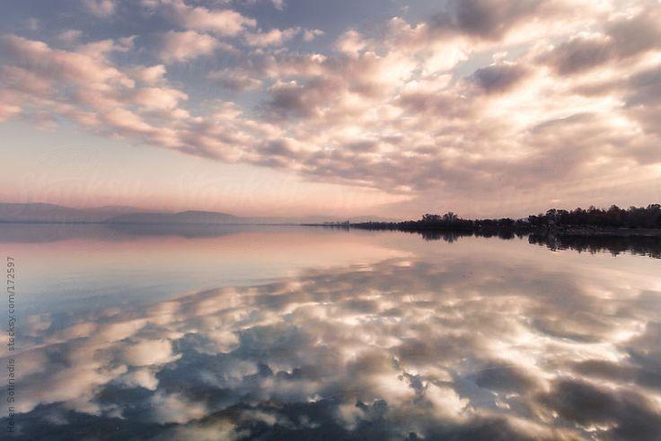 Pamvotis Lake at Ioannina, Greece by Helen Sotiriadis