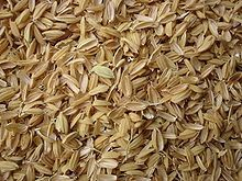 Rice hulls - Thermal insulation, cement ash, etc.