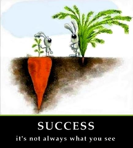 Success, it's not always what you see...Remember This, Life, Success Quotes, Judges, Sotrue, Truths, So True, Carrots, Inspiration Quotes