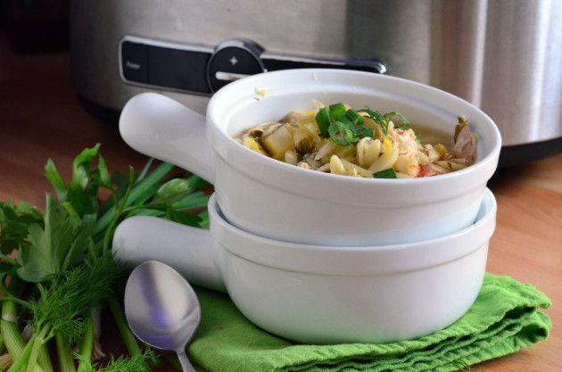 Lemon+Chicken+Orzo+Soup+Recipe