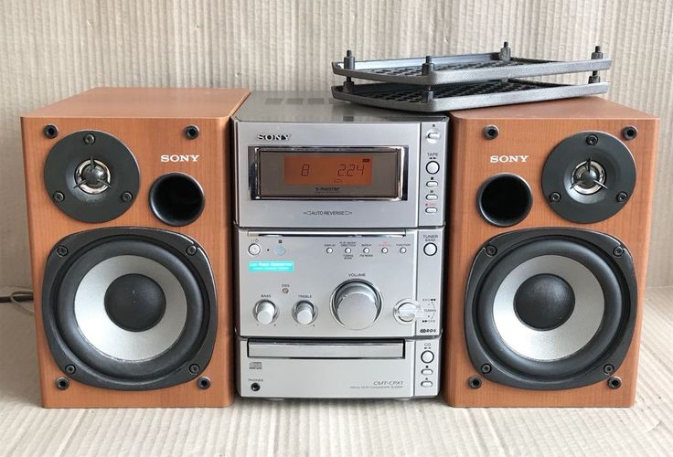 Sony CMT-CPX1 Micro Hifi System & Speakers - Radio CD Cassette HCD-CPX1 27242621084 | eBay
