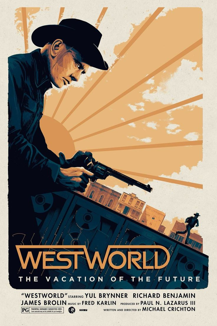 Cool Art: Westworld by Matt Ferguson. See it here