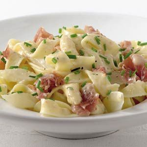 Tagliatelle with Asparagus and Parma Ham