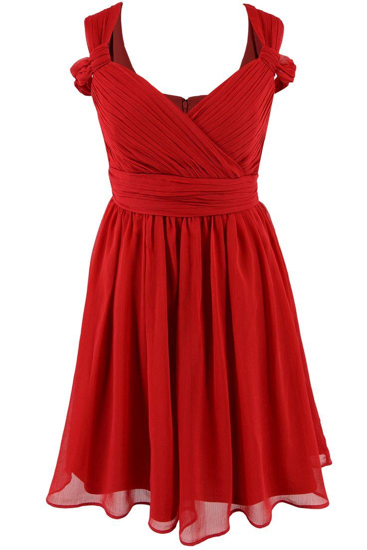 Little red dress :) http://n-fashion.pl/sukienki/ashley-brooke-sukienka-z-marszczeniami-czerwona