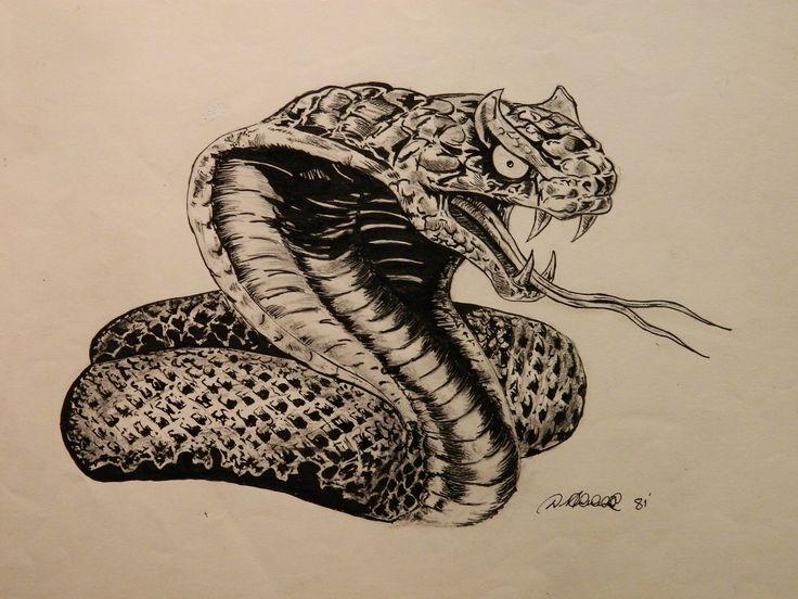 картинки змей карандашом в цветах можете поделиться