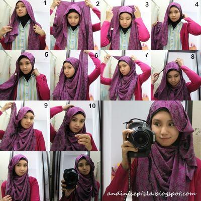 Hijab tutorial exlusif hijab tutorials ideas pinterest tutorials hijabs and hijab niqab How to wear hijab fashion style step by step dailymotion