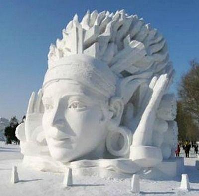 snow art. Incredible!!