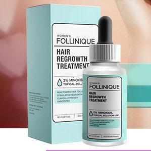 Thanks To Its Key Ingredient Minoxidil Follinique Hair Growth