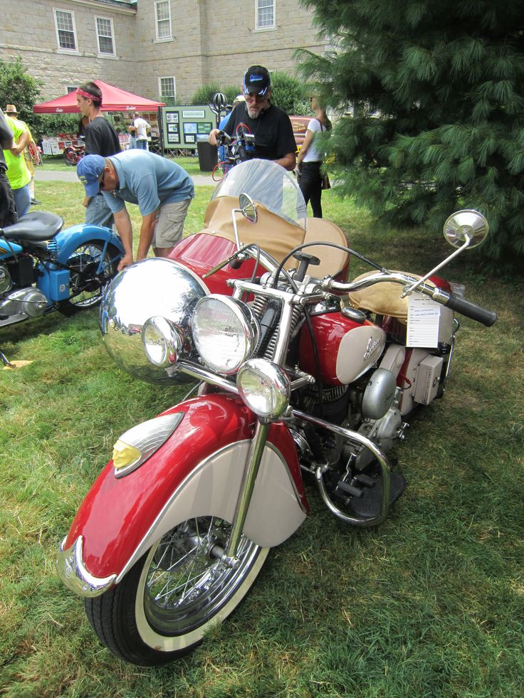 1948 Indian Chief and Sidecar – Indian Motocycle Day: July 21, 2013: Indian Motocycl, Indian Chiefs, Indian Motorcycles, 1948 Indian, Vintage Indian