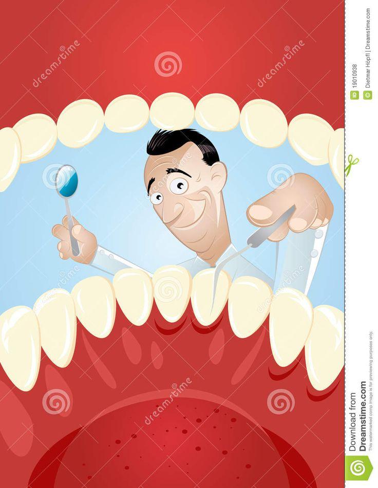 Dentiste De Dessin Animé à L'intérieur De Bouche - Télécharger parmi plus de 37 Millions des photos, d'images, des vecteurs et . Inscrivez-vous GRATUITEMENT aujourd'hui. Image: 19010938