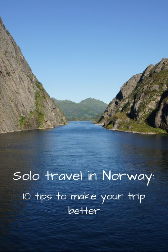 Louise, of The Adventure Land, shares her top 10 tips for traveling solo in Norway, which was recently named the happiest country in the world.