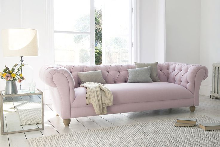 Lolly S Hunt For The Perfect Sofa Pink Sofa Velvet Sofa