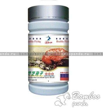Капсулы Споры гриба Линчжи (Рейши) (Reishi shell-broken spore powder) - иммуностимулирующий препарат на основе споров гриба Линчжи (Рейши)