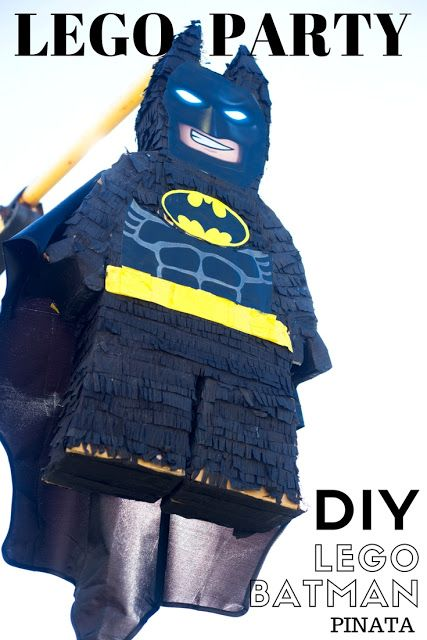 do it yourself divas: DIY LEGO Batman Birthday Party