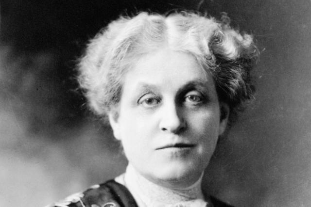 Women's Suffrage Picture Gallery: Carrie Chapman Catt