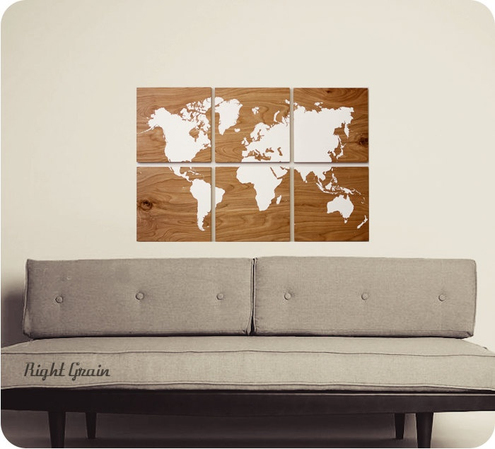 137 best interior world maps images on pinterest worldmap world world wood wall art large wood map travel gifts for men large world map canvas rustic world map colorful world map travel map gumiabroncs Gallery