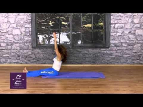 on line γυμναστική από το σπίτι Pilates με την 'Αντζελα - YouTube