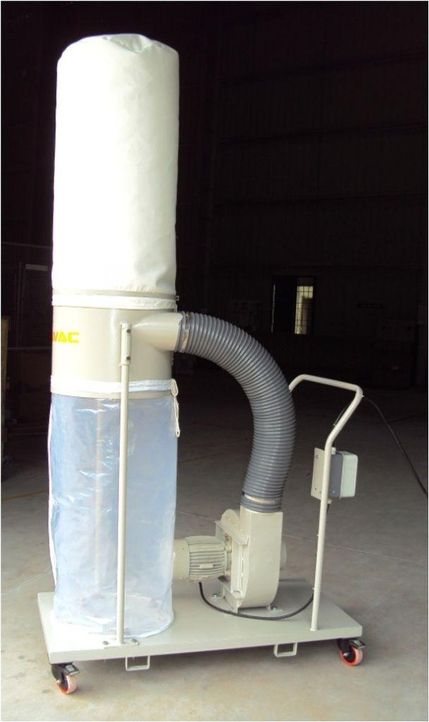 Wood Dust Collector for Cashew Nut Processing  We have supplied a wood dust collector (model DCW2F1)which is connected to both the peeling machines through ducting & flexible hose. http://www.dynavac.in/wood-dust-collector-cashew-nut-processing/